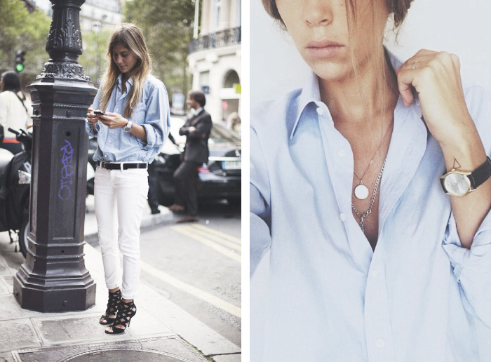 Le-Fashion-Blog-Sunday-Blues-Classic-Button-Down-Shirt-Street-Style-Via-Vogue-Spain-2