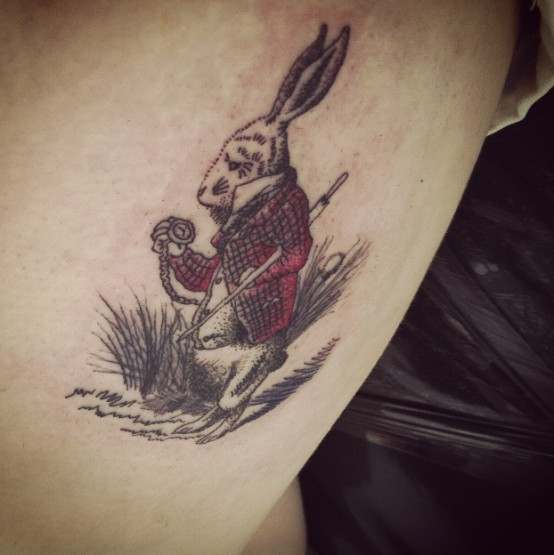 alice in wonderland tattoo 2