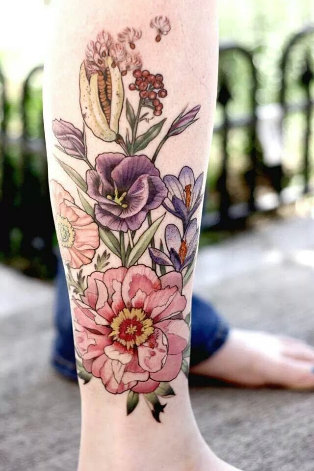 10 Floral Tattoo Artists You Could Trust Your Skin To: Tattoologist