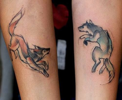 Wolves tattoologist for Loser lover tattoo