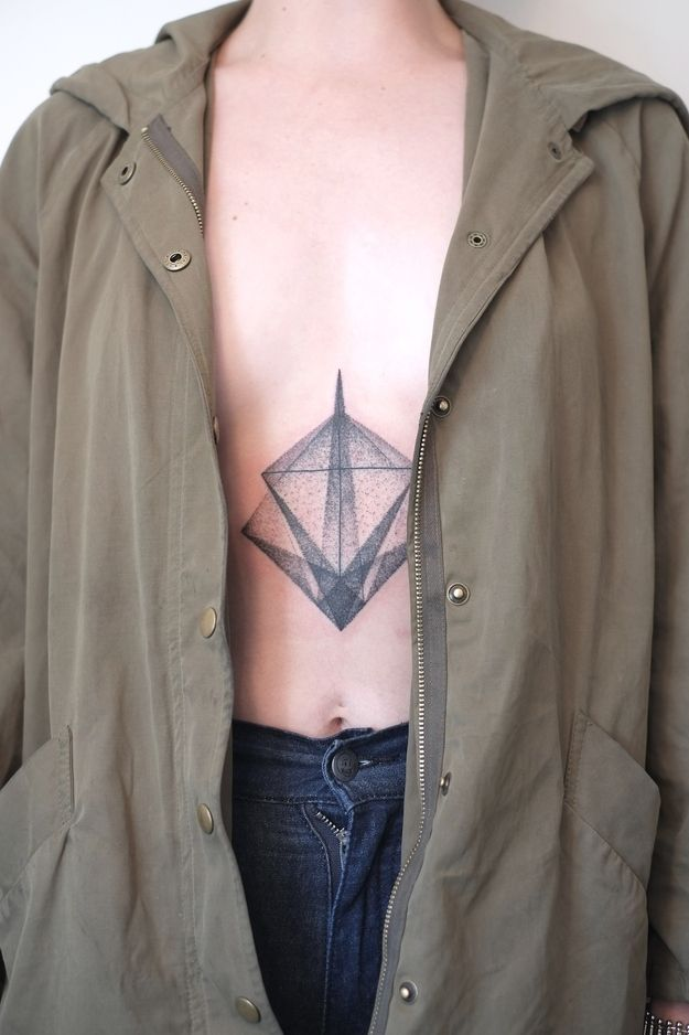 geometric tattoo