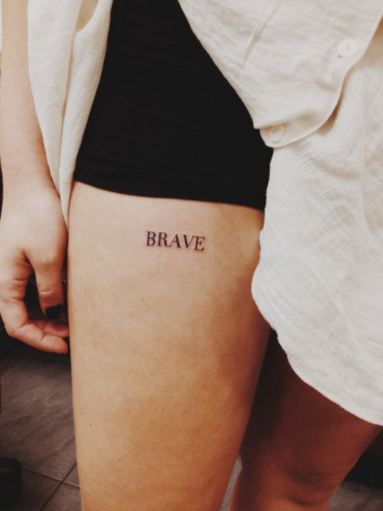 be brave tattoo 2