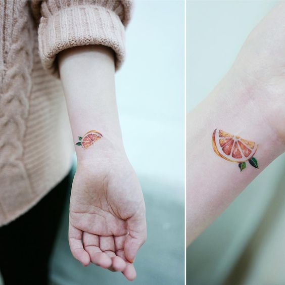 grapefruilt tattoo