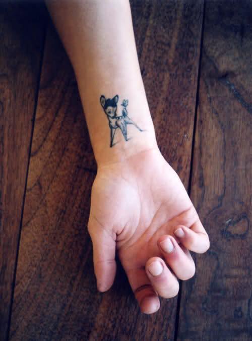 deer tattoo 2
