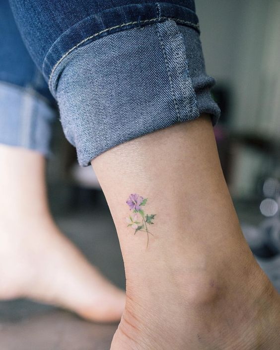 flowers tattoo 3