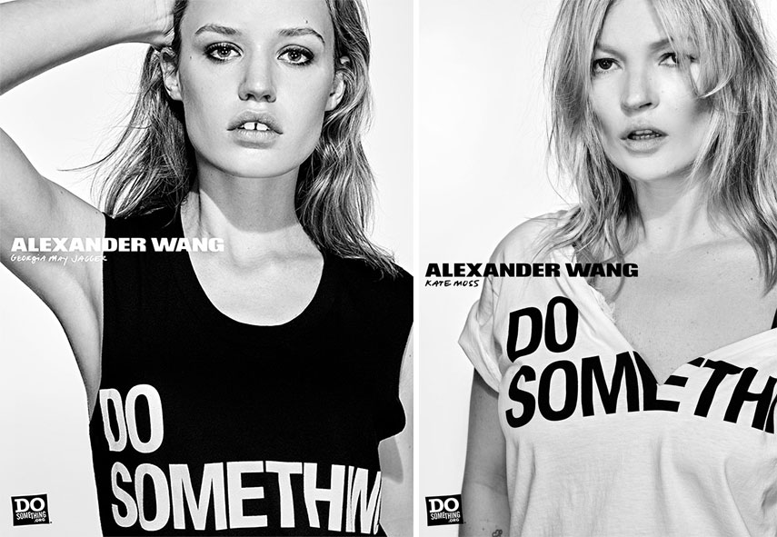 make it last alexander wang s campaign features 38 celebrities. Black Bedroom Furniture Sets. Home Design Ideas