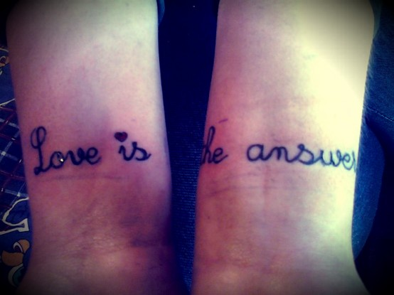 loveistheanswer