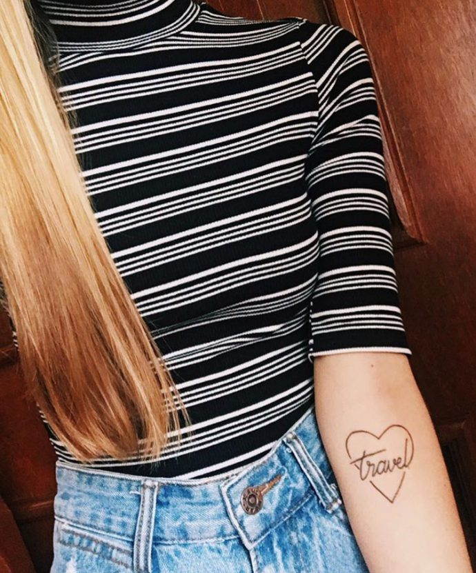 heart tattoo 2