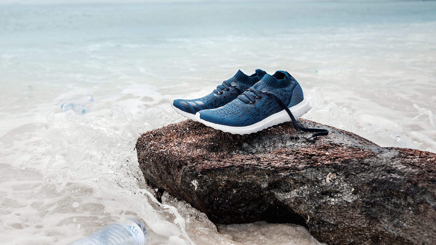 timeless design 324fe 112f0 11 Plastic Bottles Times One Million—Here are the New Parley x Adidas  Sneakers